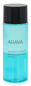 Ahava oogmake-up remover Time To Clear dames 125 ml blauw