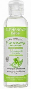 Alphanova massage oil baby flowers 100 ml