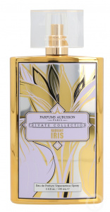Aubusson eau de parfum Radiant Iris ladies 100 ml citrus gold/white