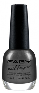 Faby nail polish Antigravity ladies 15 ml vegan grey