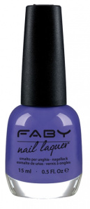Faby nail polish Fleur-de-lis ladies 15 ml vegan indigo