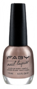 Faby nail polish Guess a Color ladies 15 ml vegan champagne