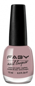 Faby nail polish Naturally ladies 15 ml vegan nude