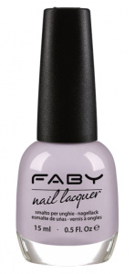 Faby nail polish What the eyes see ladies 15 ml vegan lilac