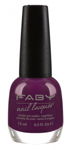 Faby nail polish Where is my head? ladies 15 ml vegan purple