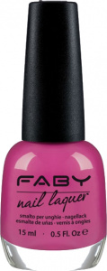 Faby nail polish Color is the Scent of Dreams 15 ml vegan violet