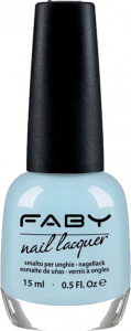 Faby nail polish Don't Disturb my Puppy 15 ml vegan pastel blue