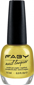 Faby nail polish Hi, Honey! ladies 15 ml vegan yellow