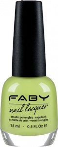 Faby nail polish Hop on my Scooter! ladies 15 ml vegan citrus green