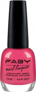 Faby nail polish Hula Hoop Pink ladies 15 ml vegan pink