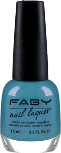 Faby nail polish Jump on my Magic Carpet! 15 ml vegan blue