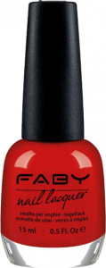 Faby nail polish Look at me baby! ladies 15 ml vegan red