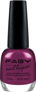 Faby nail polish Lotus Flower in Shangai ladies 15 ml vegan purple