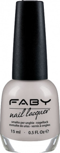 Faby nail polish Lunar Skin ladies 15 ml vegan white