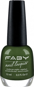 Faby nail polish Mint Bubbles ladies 15 ml vegan green