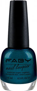 Faby nail polish Nuit des Mystères ladies 15 ml vegan deep blue