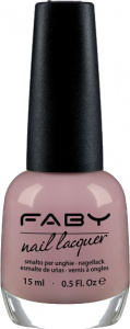 Faby nail polish Sensual Touch ladies 15 ml vegan nude