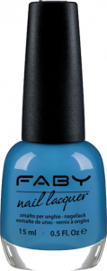 Faby nail polish Sunglasses and Bikini 15 ml vegan sky blue