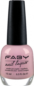 Faby nail polish Tea Time ladies 15 ml vegan pink
