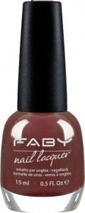 Faby nail polish The 3 Laws of Nails ladies 15 ml vegan red