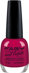 Faby nail polish What's Your Mood? ladies 15 ml vegan red