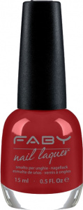 Faby nail polish Whisky, Mr. Brown? ladies 15 ml vegan red