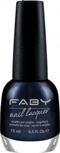 Faby nail polish Save the Drive-In ladies 15 ml vegan dark blue