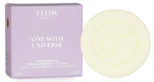 Flow Cosmetics bodybutter One with Universe 60 grams vegan white