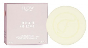 Flow Cosmetics bodybutter Touch of Love 60 grams vegan white