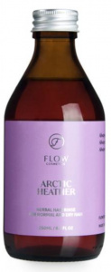 Flow Cosmetics haarspoeling Heather 250 ml vegan transparant