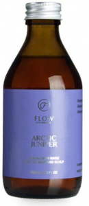 Flow Cosmetics haarspoeling Juniper 250 ml vegan transparant