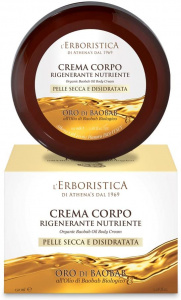 L'Erboristica bodycrème Gold of Baobab 150 ml vegan geel