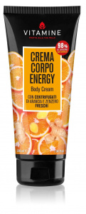 L'Erboristica bodylotion Energy 200 ml vegan oranje