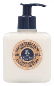 L'Occitane hand- en lichaamslotion Shea Butter Ultra Rich 300 ml