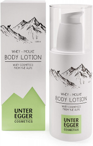 Unteregger Cosmetics bodylotion Whey - Molke 150 ml wit